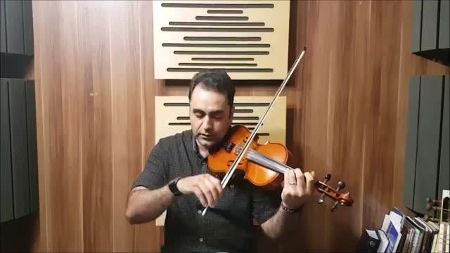 کلاس ویولن ایرانی کلاسیک کمانچه تنبک دف ایمان ملکی