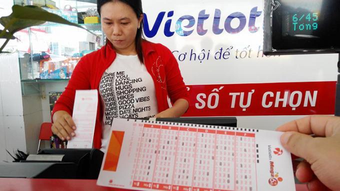 Vietlott là xổ số điện toán tự chọn