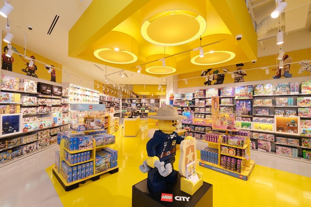 Explore Singapore's biggest LEGO store