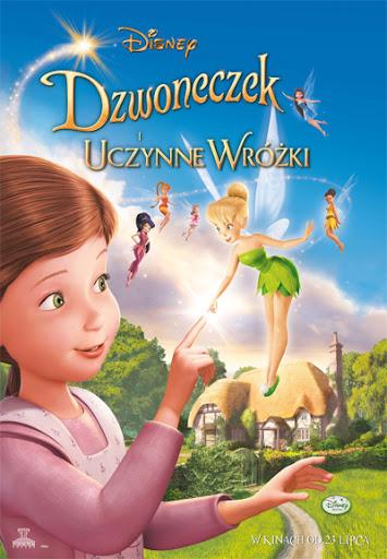 Polski plakat filmu 'Dzwoneczek i Uczynne Wróżki'