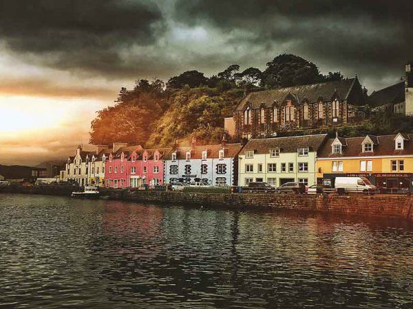 Portree - one of our stops on our Isle of Skye Tours