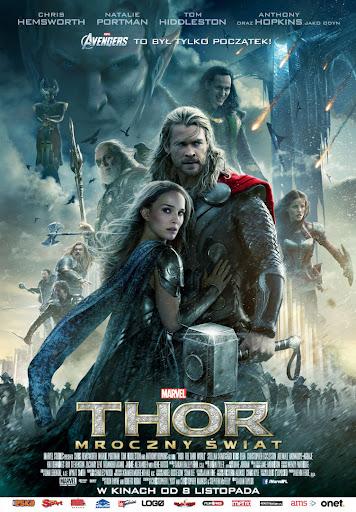 Polski plakat filmu 'Thor: Mroczny Świat'