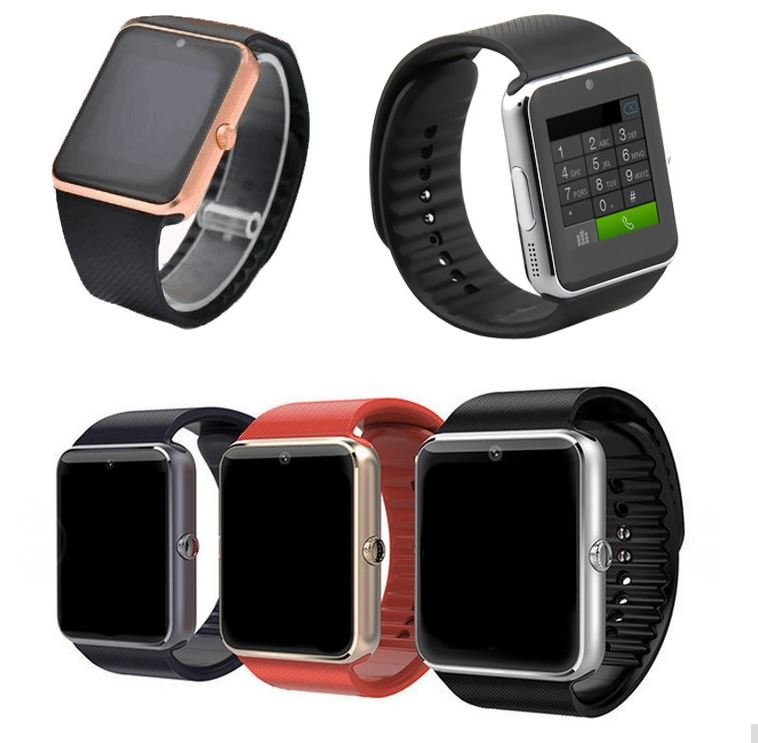 montre connect e iphone android iwatch gt08 sim smartwatch sd internet camera. Black Bedroom Furniture Sets. Home Design Ideas