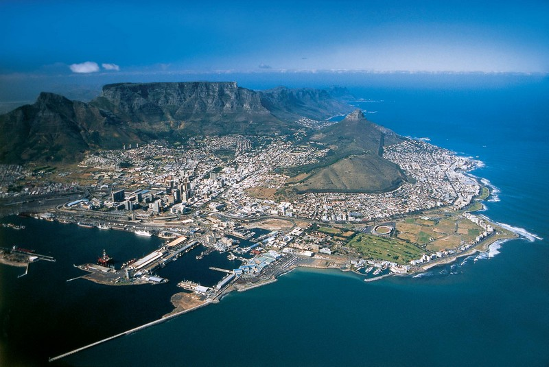 South African tour starting from Cape Town