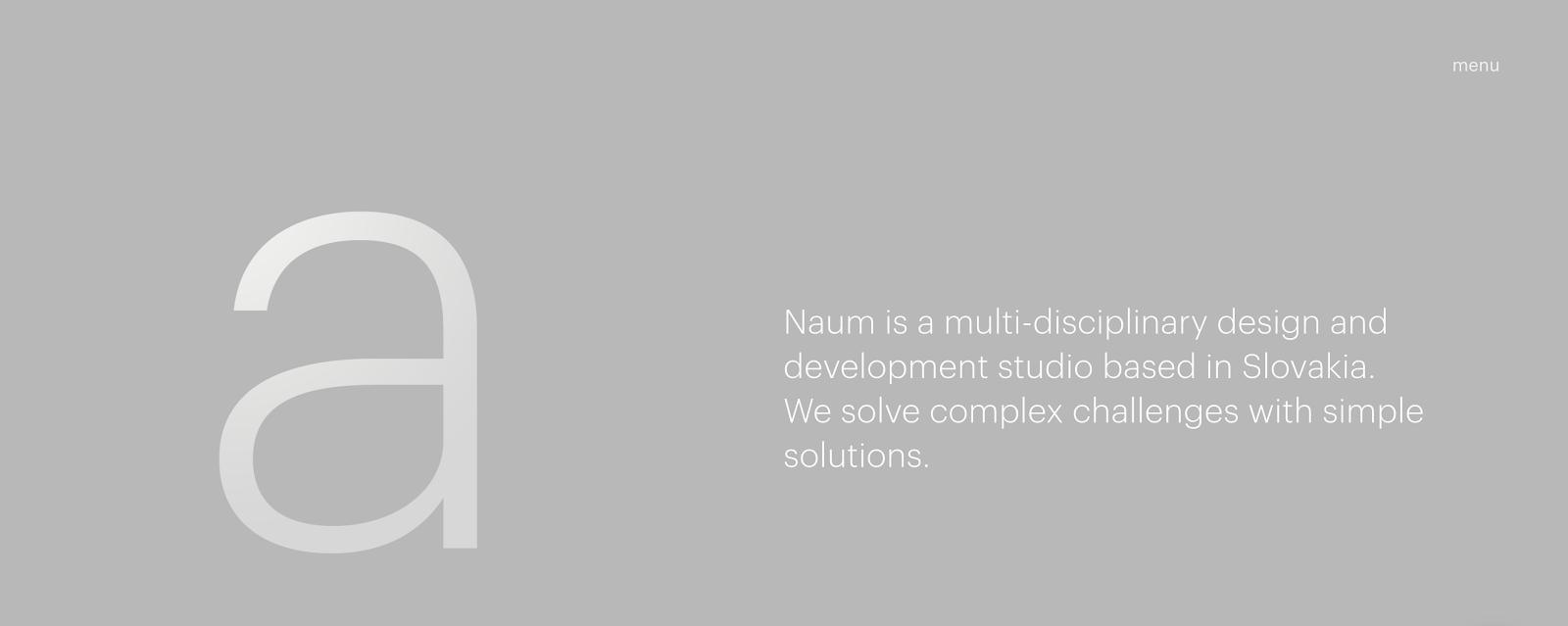 Web Developer Portfolio of Naum