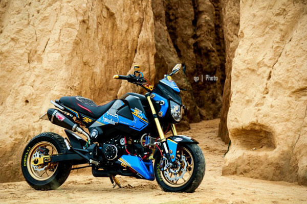 Honda MSX125 độ nổi bật và cá tính cùng hàng loạt đồ chơi 8