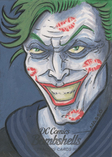 DC Bombshells Trading Cards III - Sketch Card