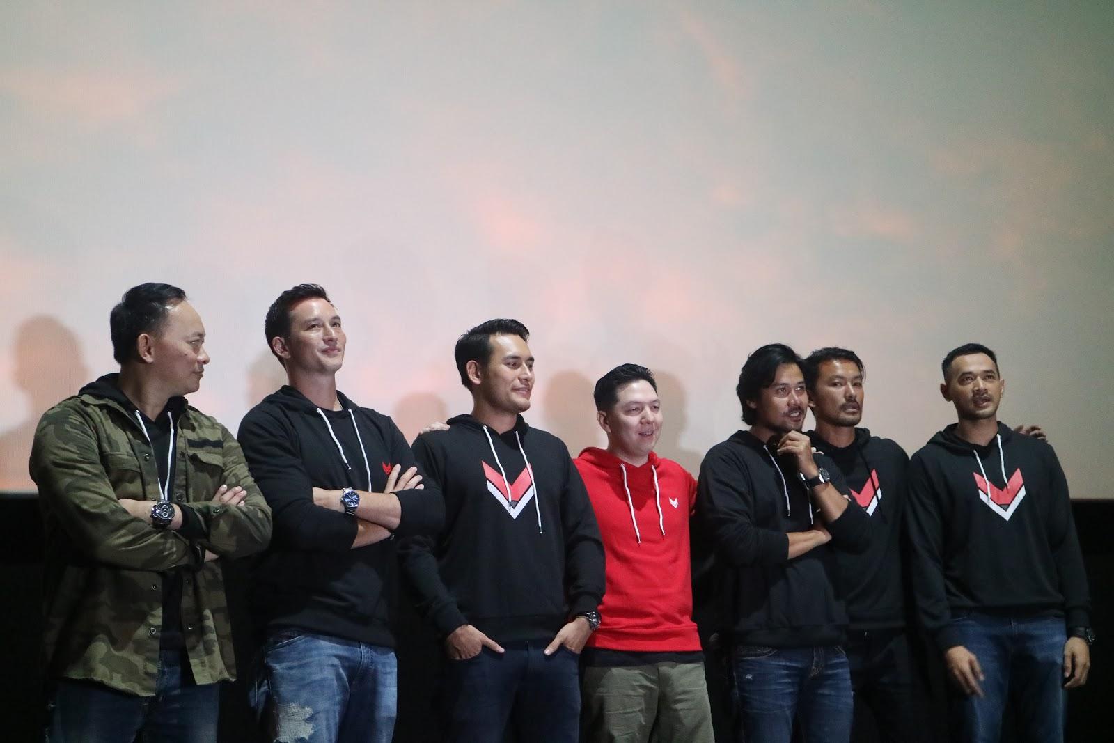 Official Trailer Foxtrot Six Udah Rilis, Film Aksi Indonesia Makin Berkelas!
