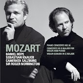 Mozart : Piano Concerto No.16 K451, Violin Sonata in G major K379, Concerto for Violin & Piano K.App.56/K315f