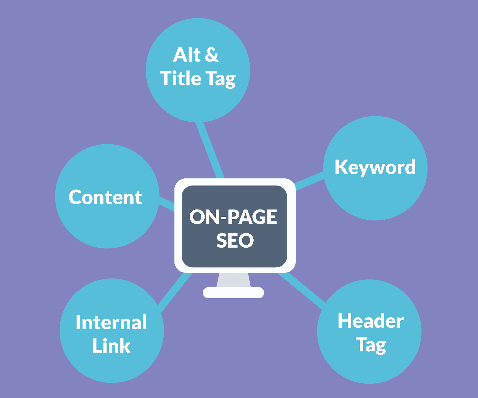 On Page SEO: Aly & Title Tag, Keywords, Header Tag, Internal Link, Content and much more...