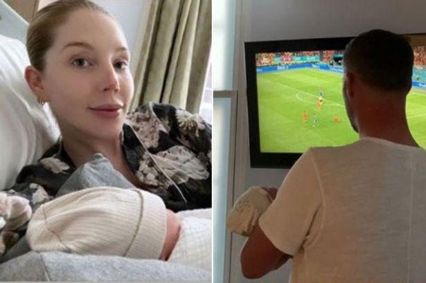 Katherine Ryan gives birth just two weeks after unveiling her pregnancy