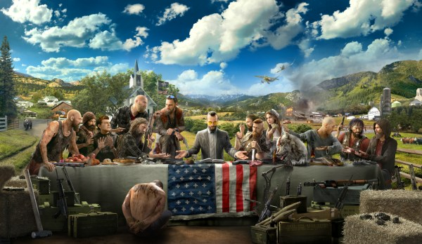 Far Cry 5 last supper uses up gaming storage