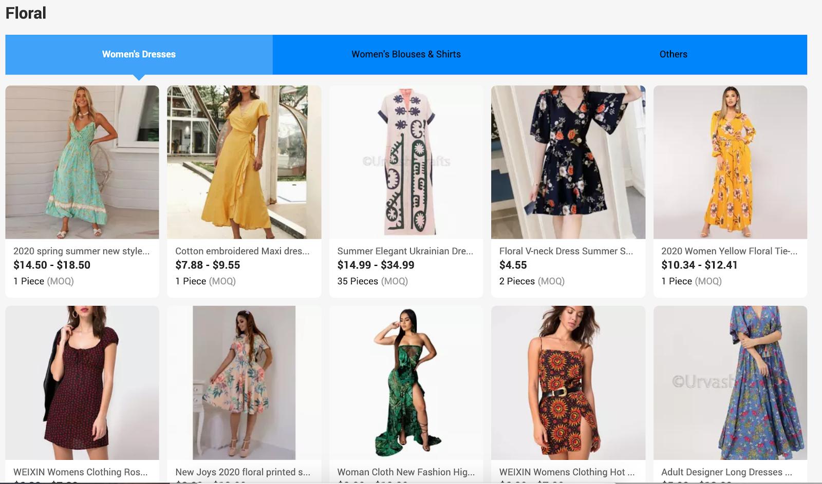 china wholesale clothing women
