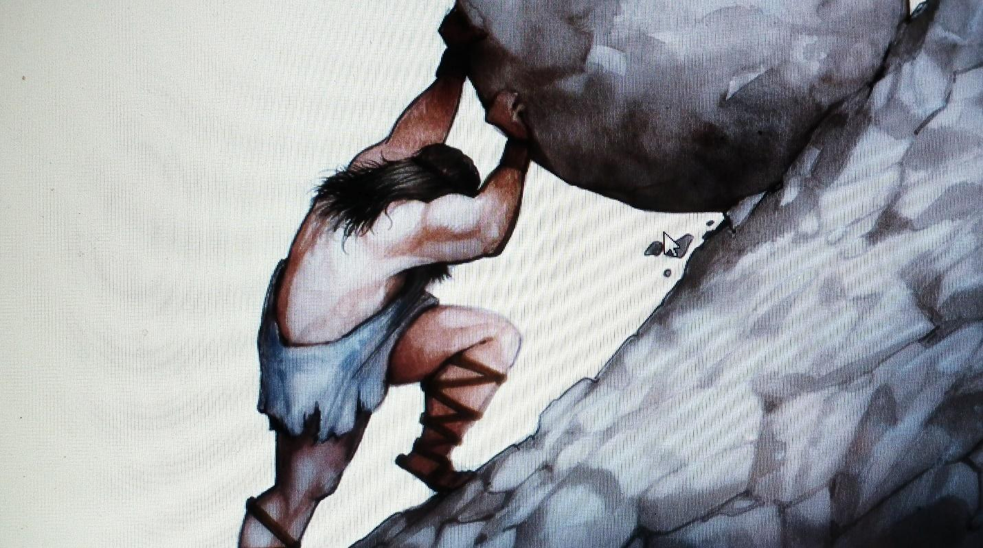 Image result for sisyphus picture