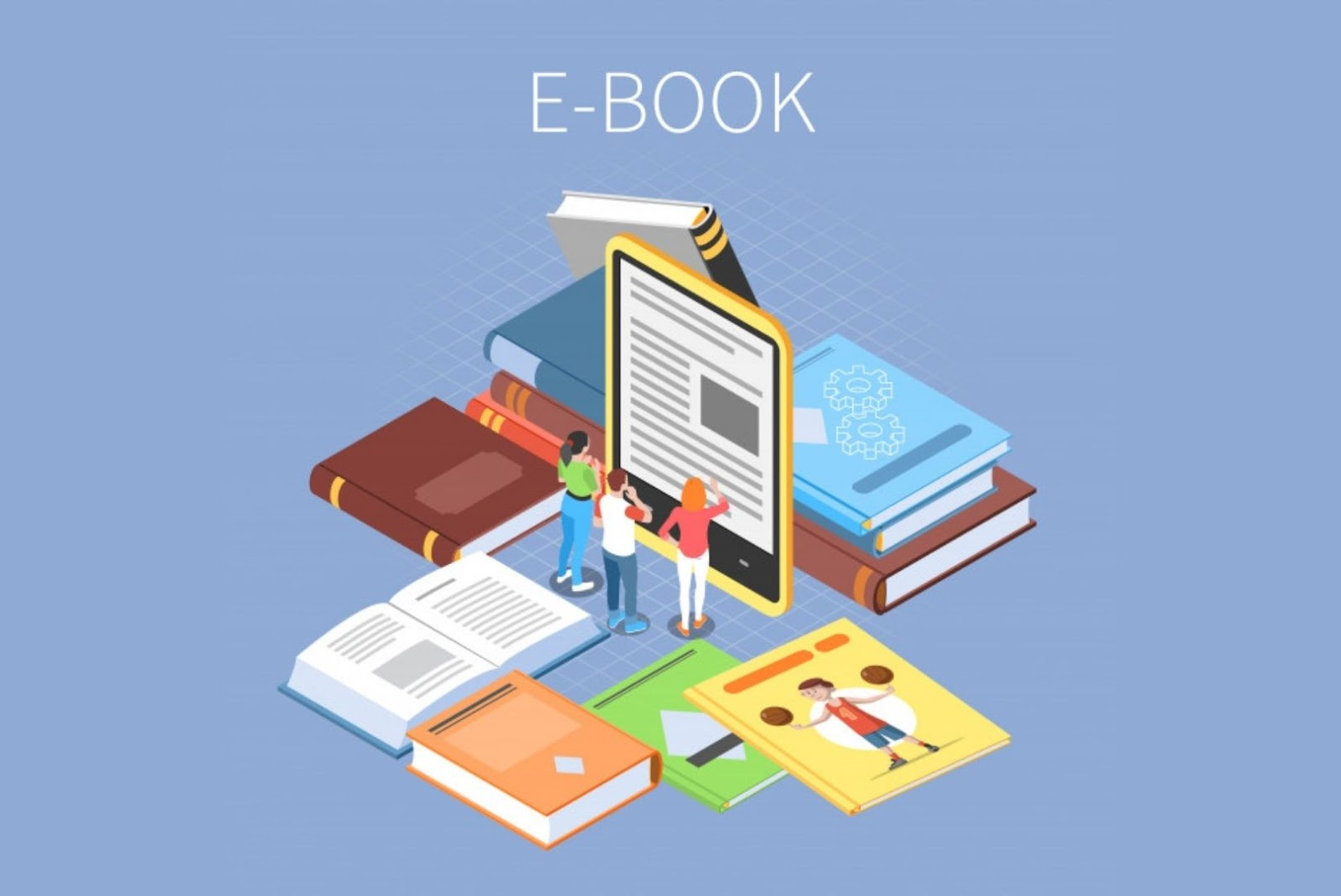 E-commerce ideas for E-book selling