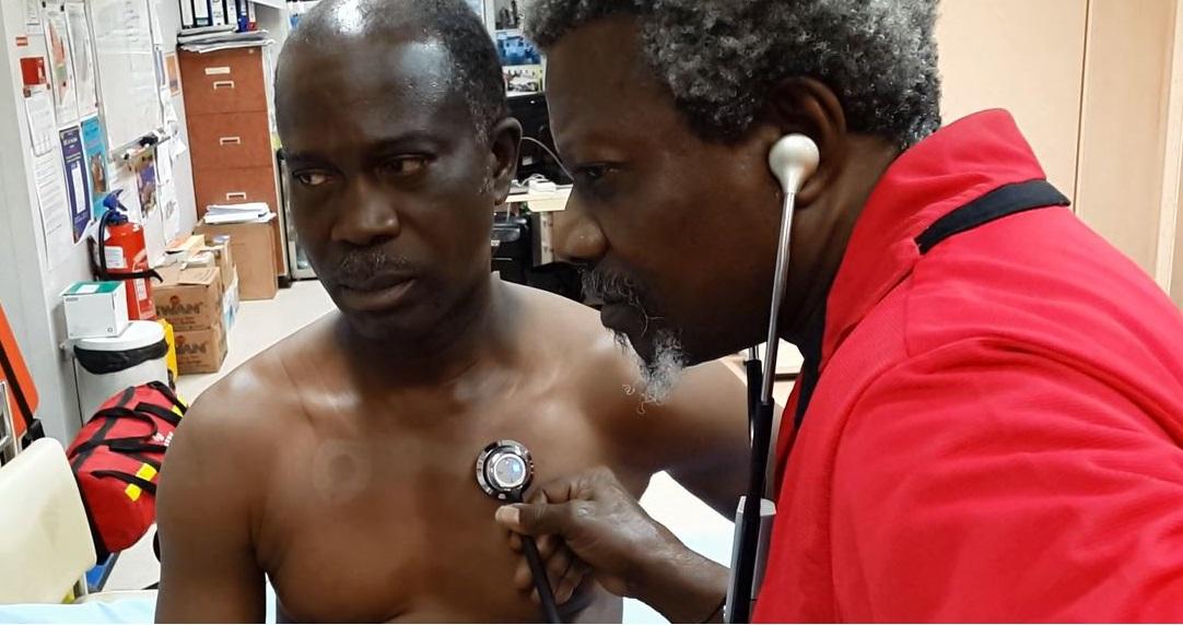 medic for Bonga FPSO
