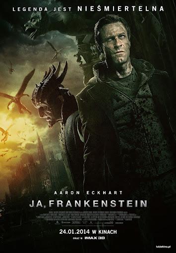 Polski plakat filmu 'Ja, Frankenstein'