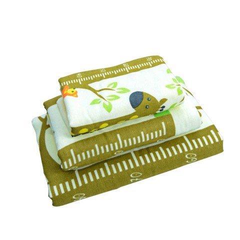 01 khăn tắm trẻ em cotton 2 lớp Mollis BM5A 60 x 120 cm
