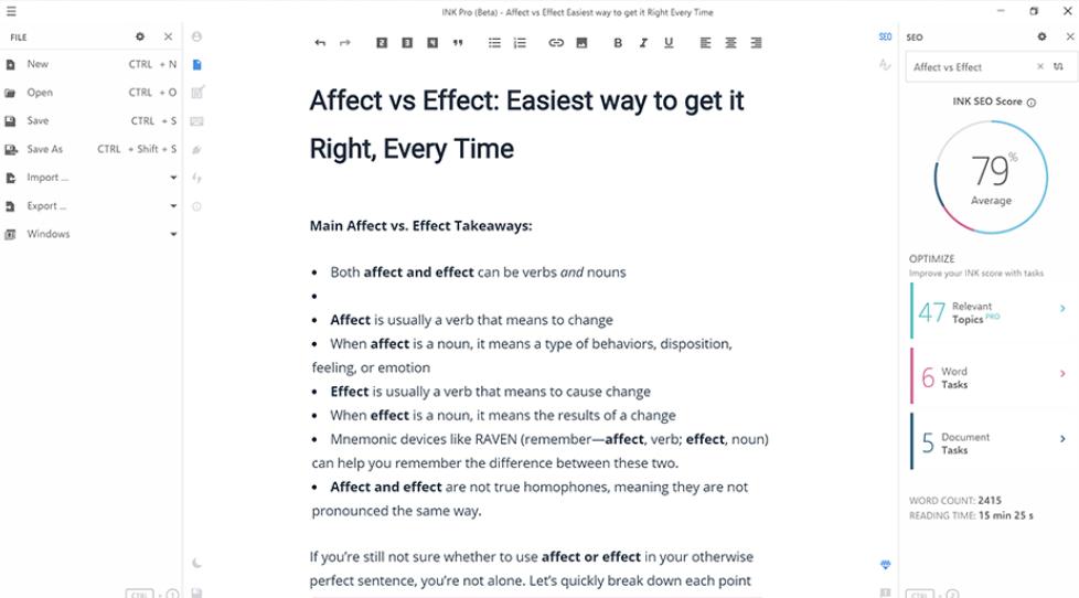 omniscient digital best content marketing tools ink