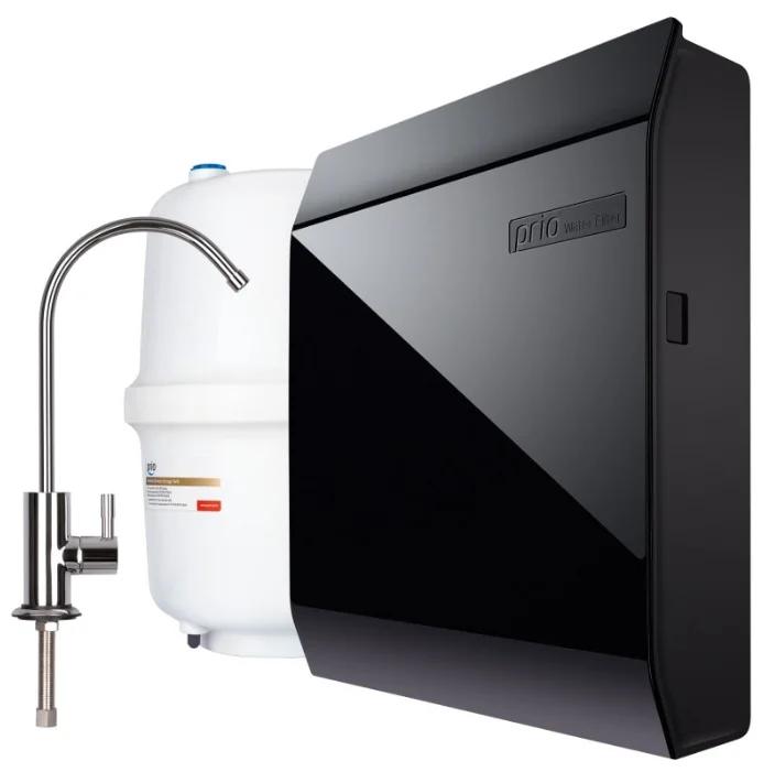 Фильтр для очистки воды в квартиру под мойку Prio Новая Вода Expert Osmos MO580