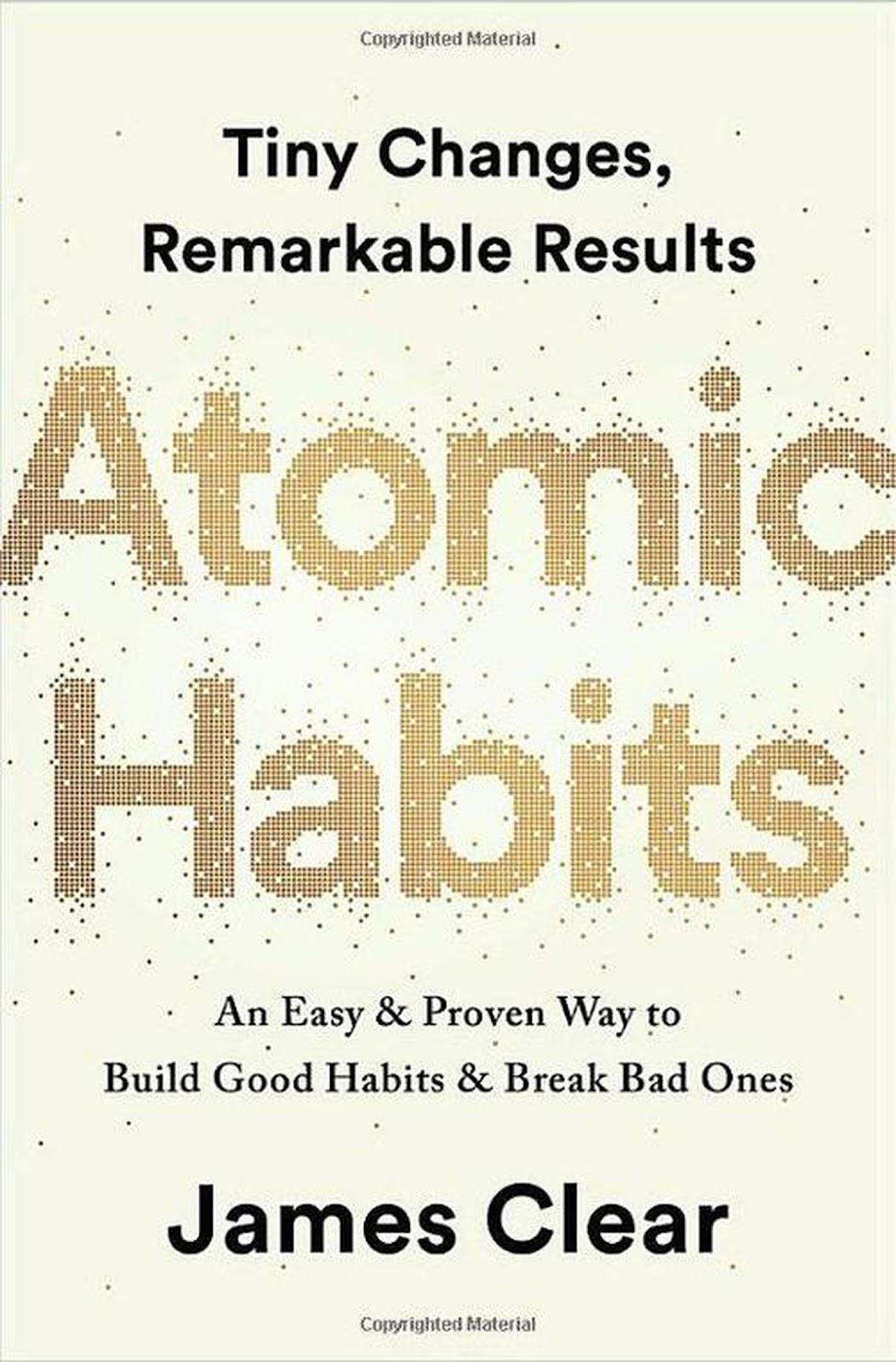 《原子习惯》---关于如何养成习惯的整理