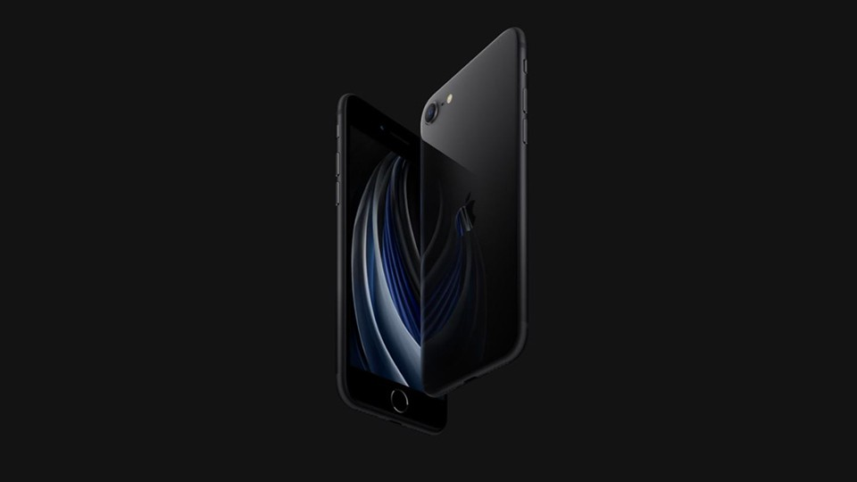 thiết kế iPhone SE 2020