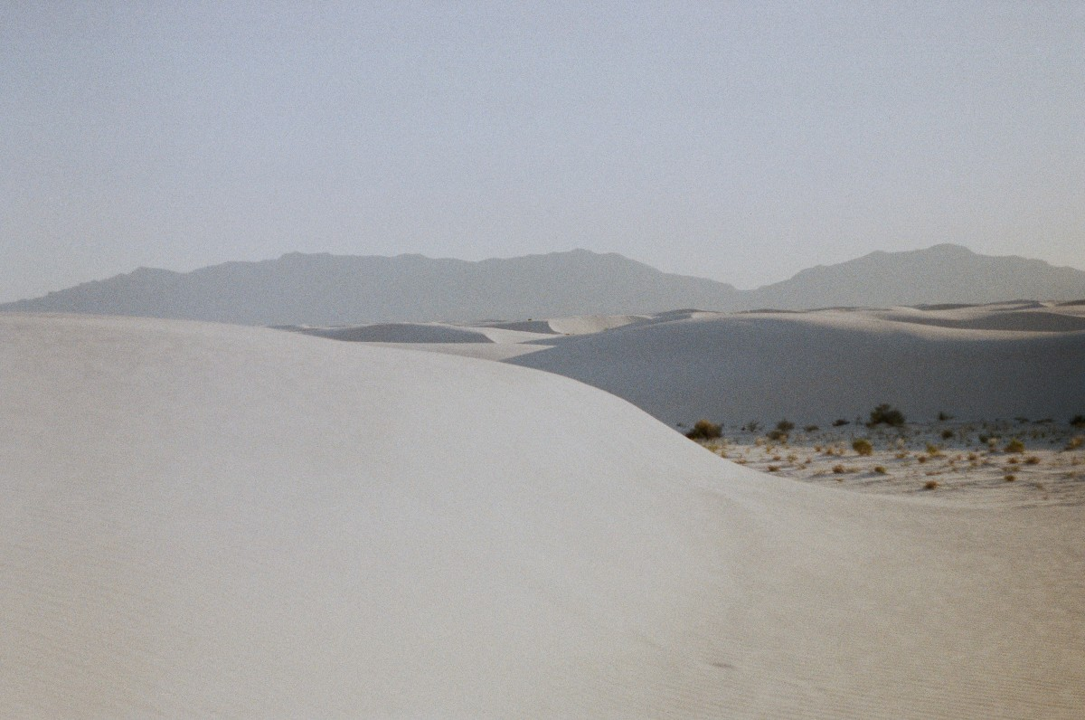 White sand dunes at White Sands, a top spring choice when considering best national parks to visit by month