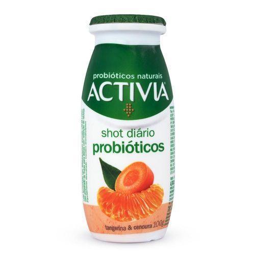 Leite Fermentado Activia Shot Diário Probióticos Tangerina E ...