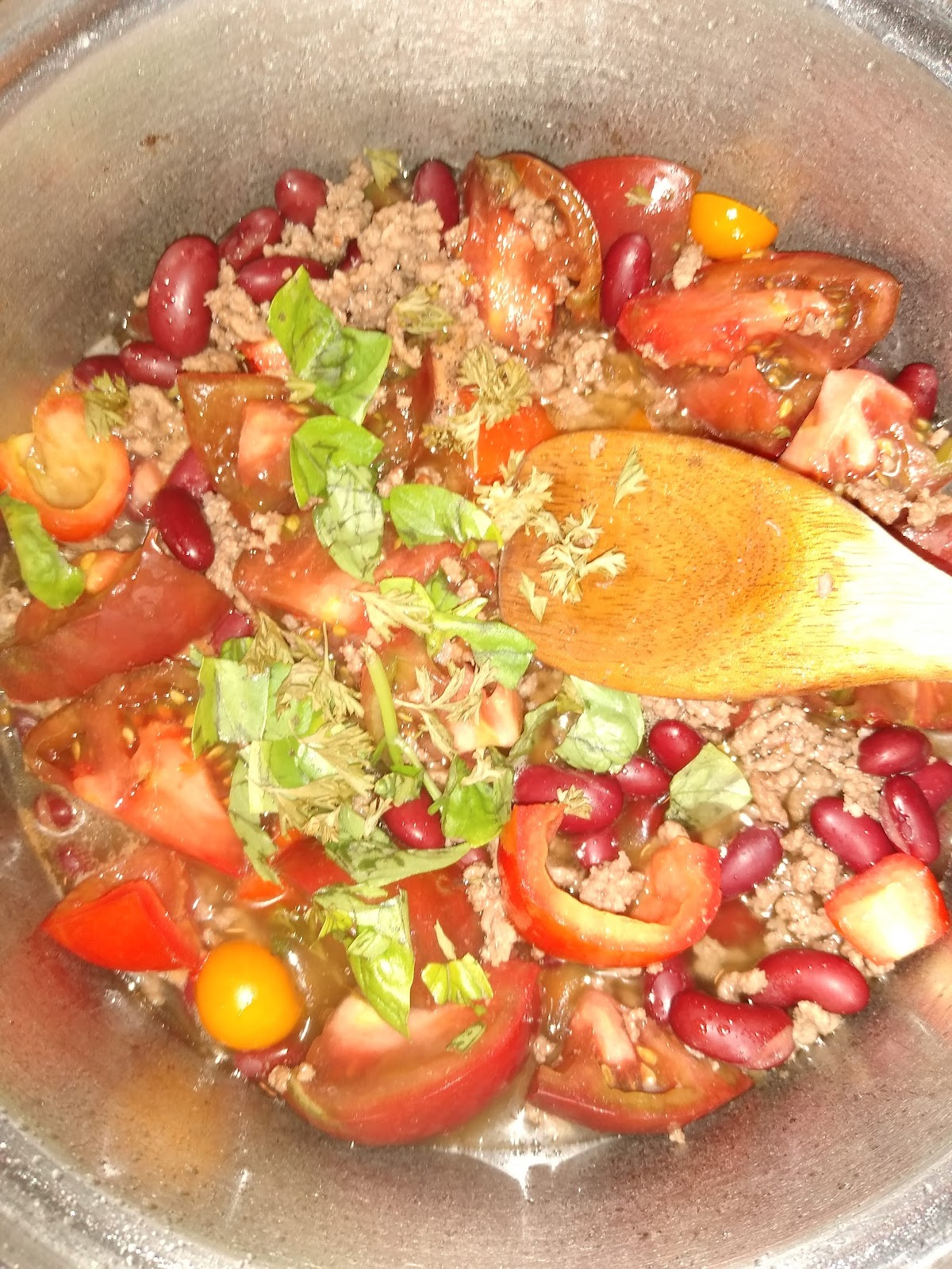 cooking chili