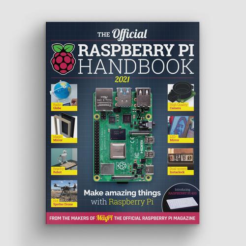 The Official Raspberry Pi Handbook 2021 cover