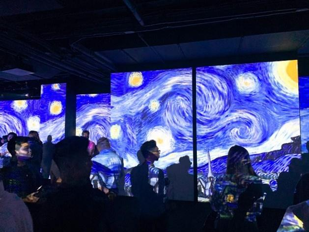 Image result for van gogh alive manila