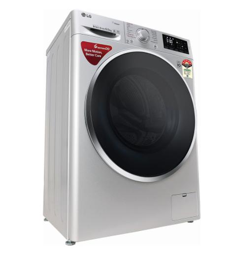 LG FHT1265ZNL - 6.5 Kg- सर्वश्रेष्ठ फ्रंट लोड फुल्ली ऑटोमेटिक वाशिंग मशीन
