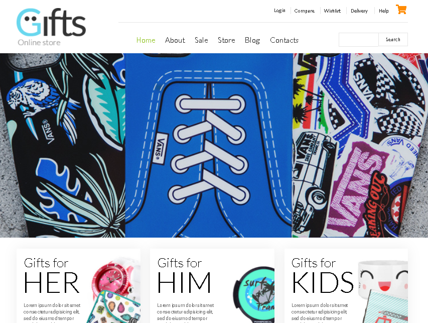 Gifts Shop Woocommerce Themes