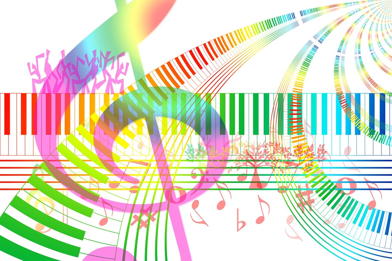 Musical notes to relieve overthinking
