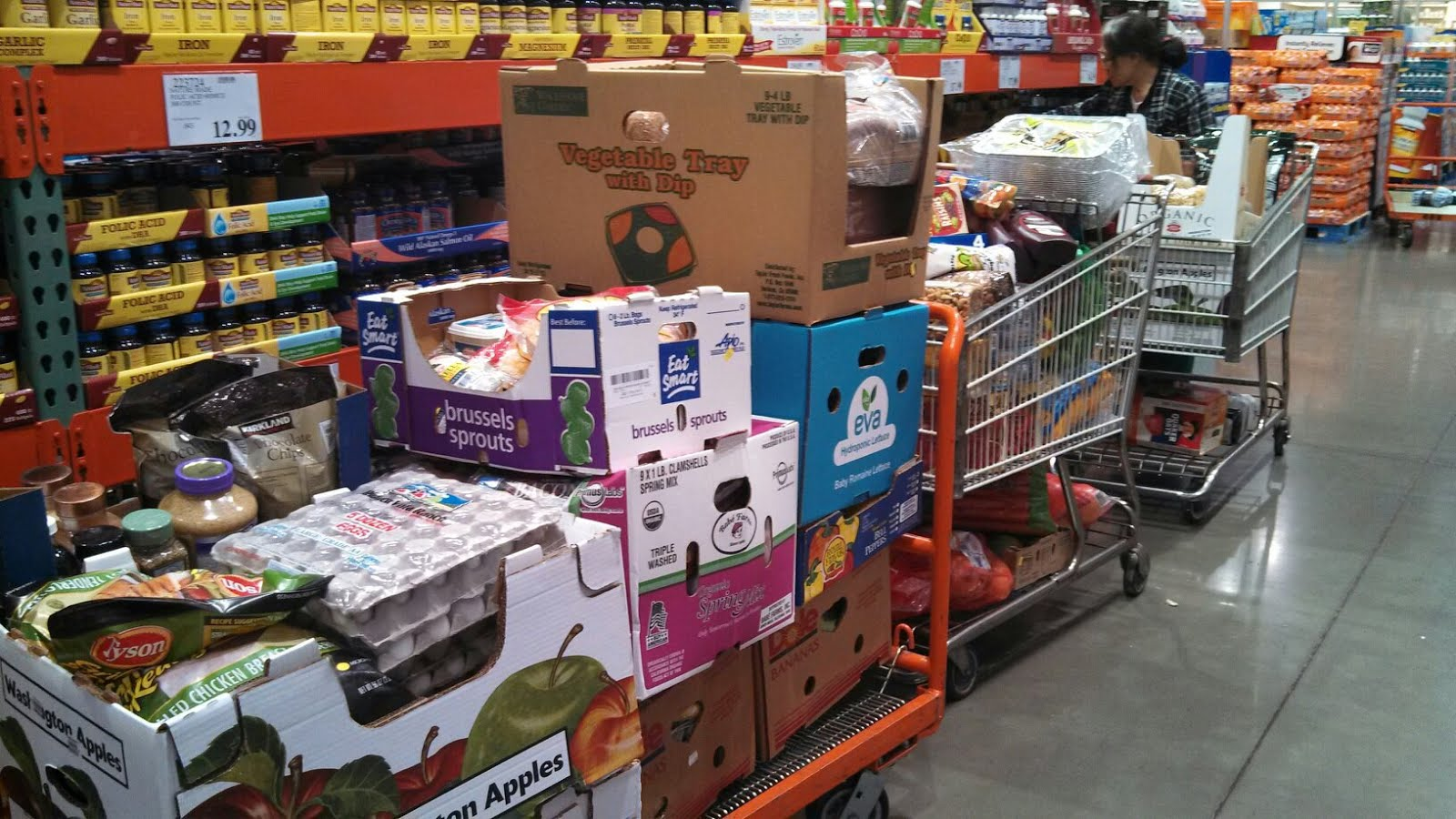 800 000 calories at costco by jennifer wilson mit cycling team blog. Black Bedroom Furniture Sets. Home Design Ideas