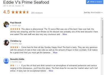 restaurant reviews photo