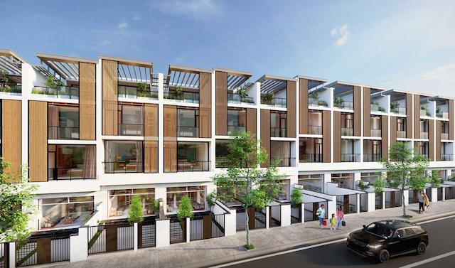 Dự án takara residence bình dương có mật độ xây dựng tuỳ thuộc vào loại hình đầu tư