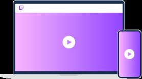 Twitch premium video