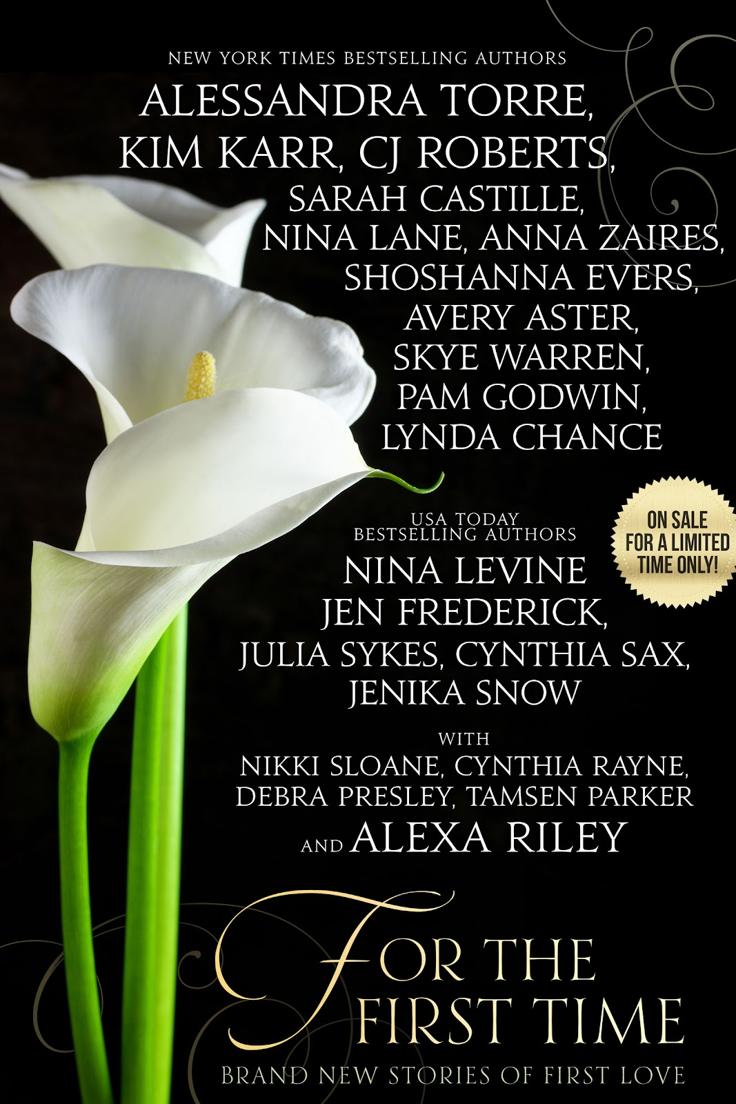 For The First Time : Anthology ( Brand New Stories Of First Love)  #CoverReveal @ArdentPRose