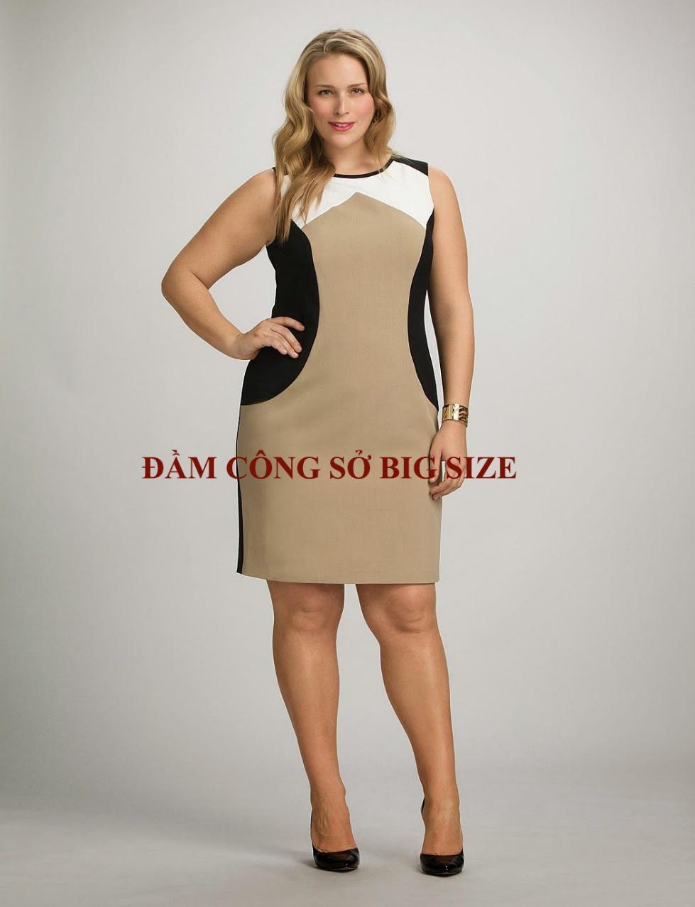 Đầm công sở big size