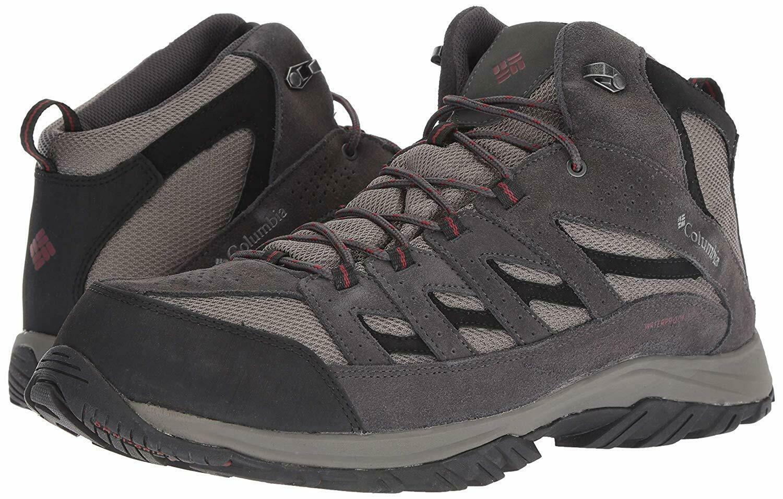 654ce683fef Columbia Men's Crestwood Mid Waterproof Hiking Boot US 16 NIB | eBay