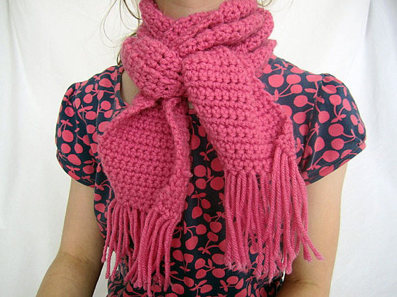 Cozy Pink Scarf