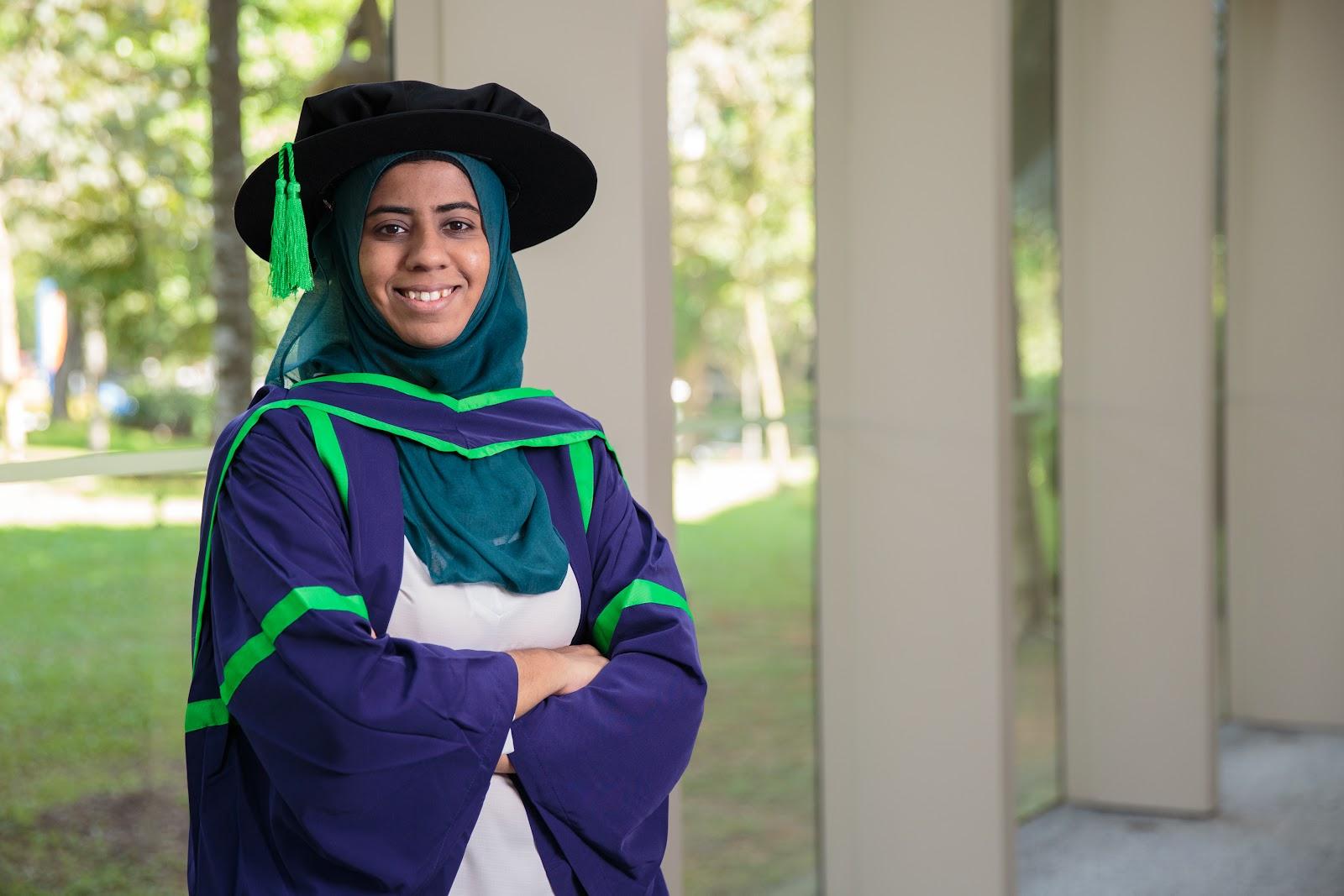 madrasah wak Tanjong Singapore graduate