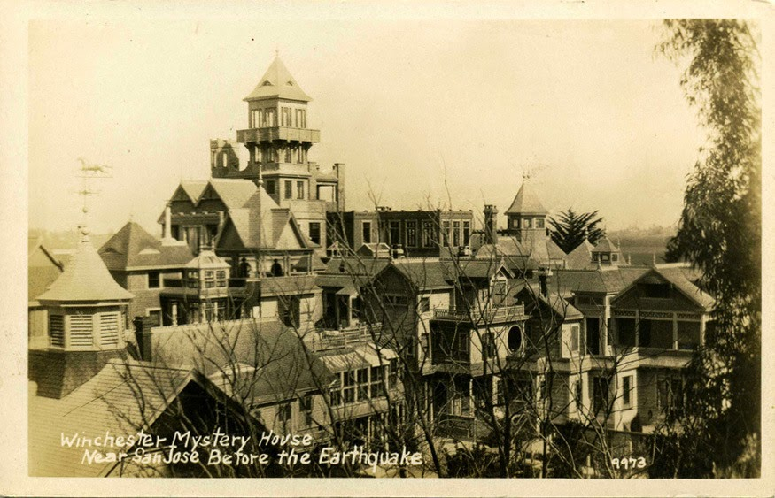 A mansão antes do grande terremoto de 1906
