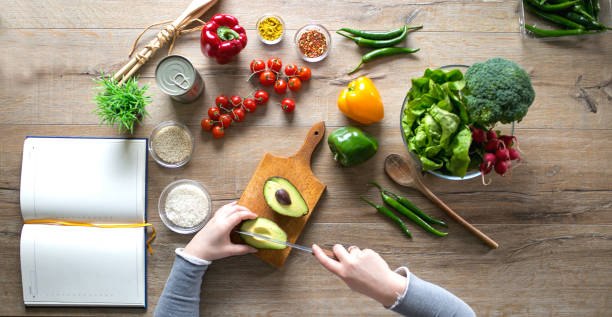 a diet plan with vegetarian foods