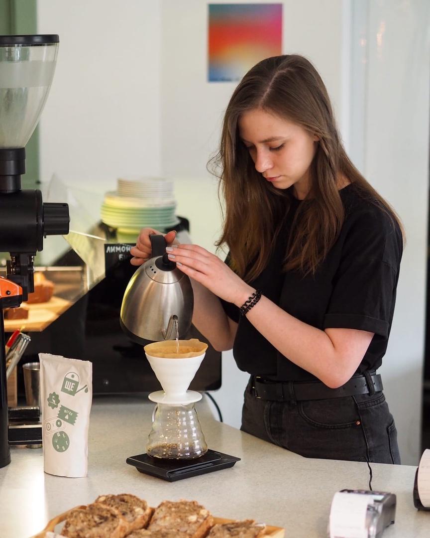 Напитки кофейни Щегол