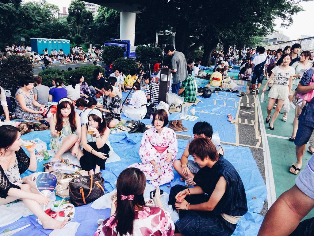 Image result for Sumidagawa Fireworks