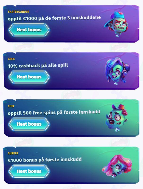 casombie casino bonus