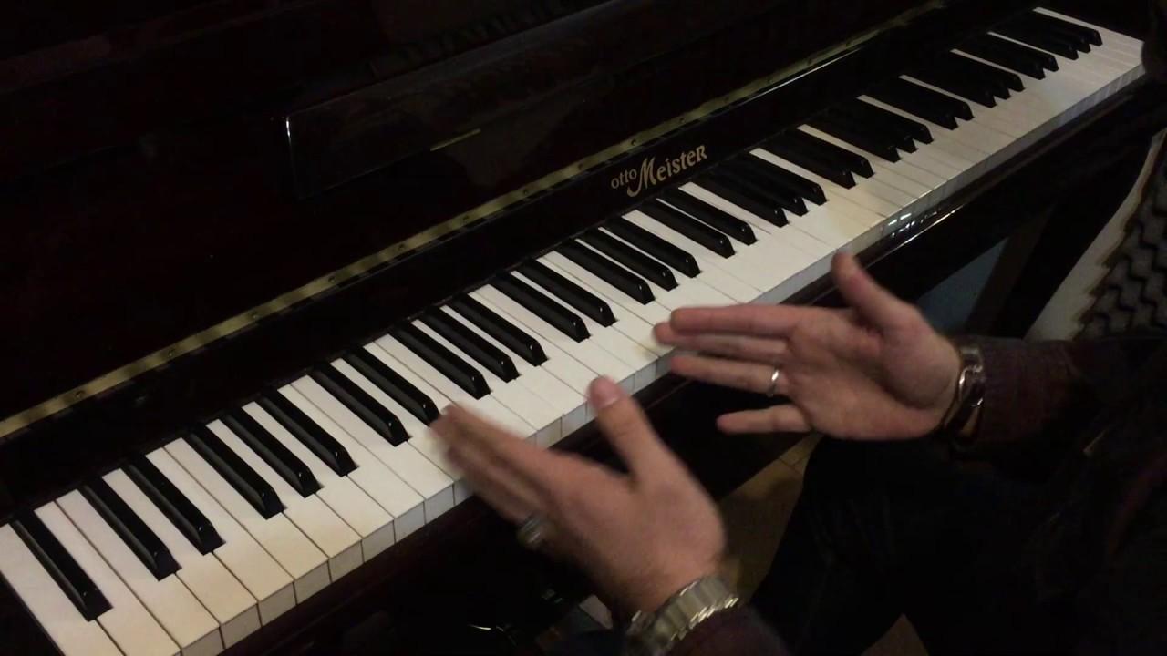 آموزش انگشتگذاری پیانو احسان نیک