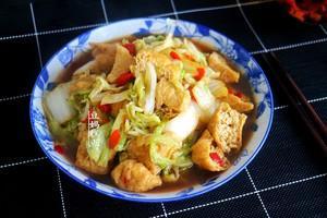 又一好吃的大白菜做法,花不到5块钱,家常下饭的做法 步骤10